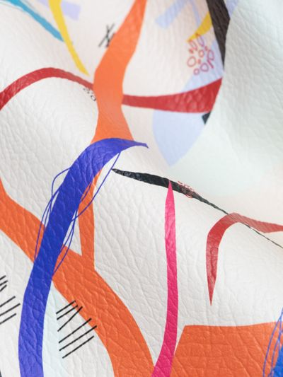 leatherette fabric printing
