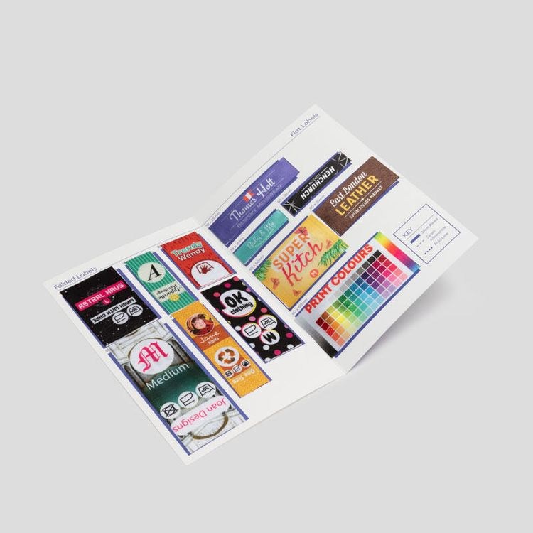 Fabric Labels Sample Set