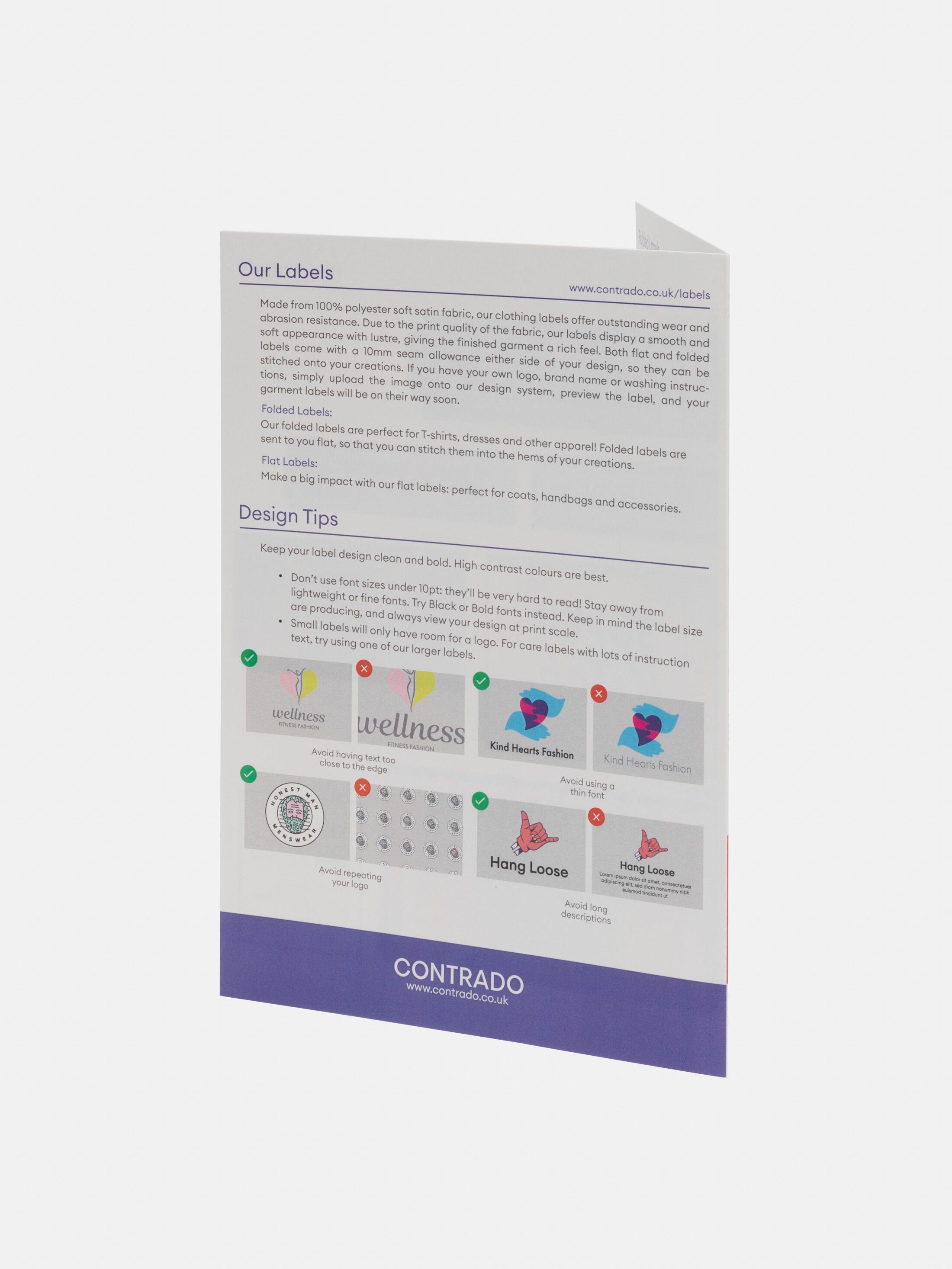 Fabric Label Sample Pack