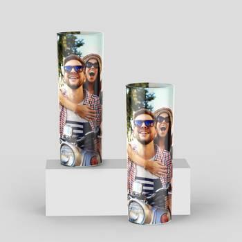 vasos de tubo personalizados fotos online