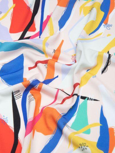 custom Solange Silky Jersey Fabric
