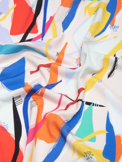 custom Solange Soft Jersey Fabric
