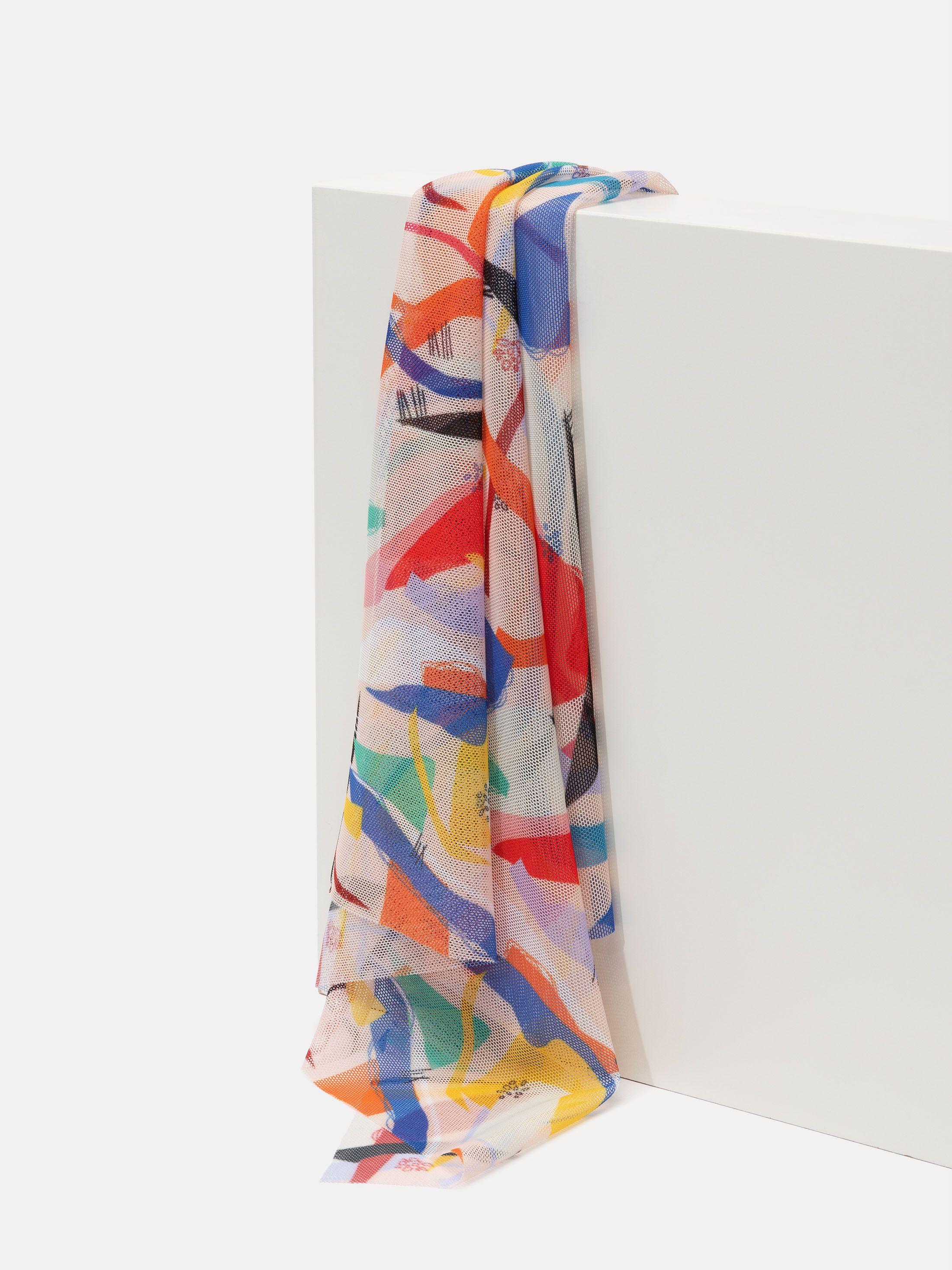 stampa tessuto a rete florence microforato