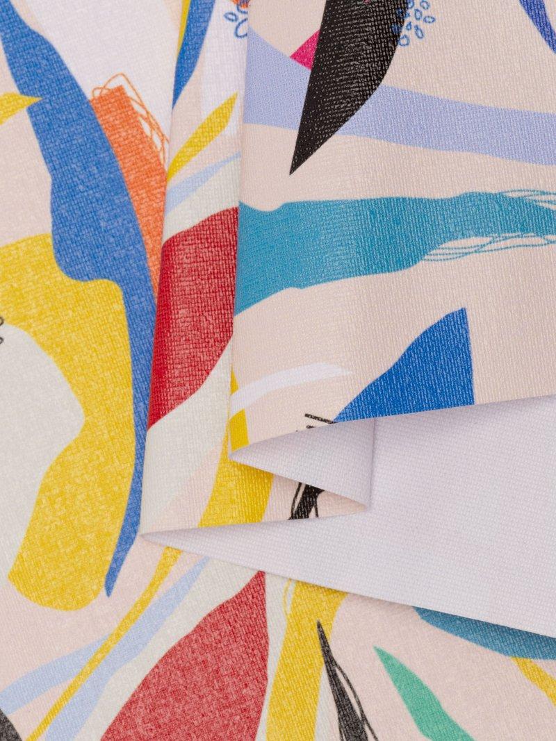 Print Stiff Translucent fabric