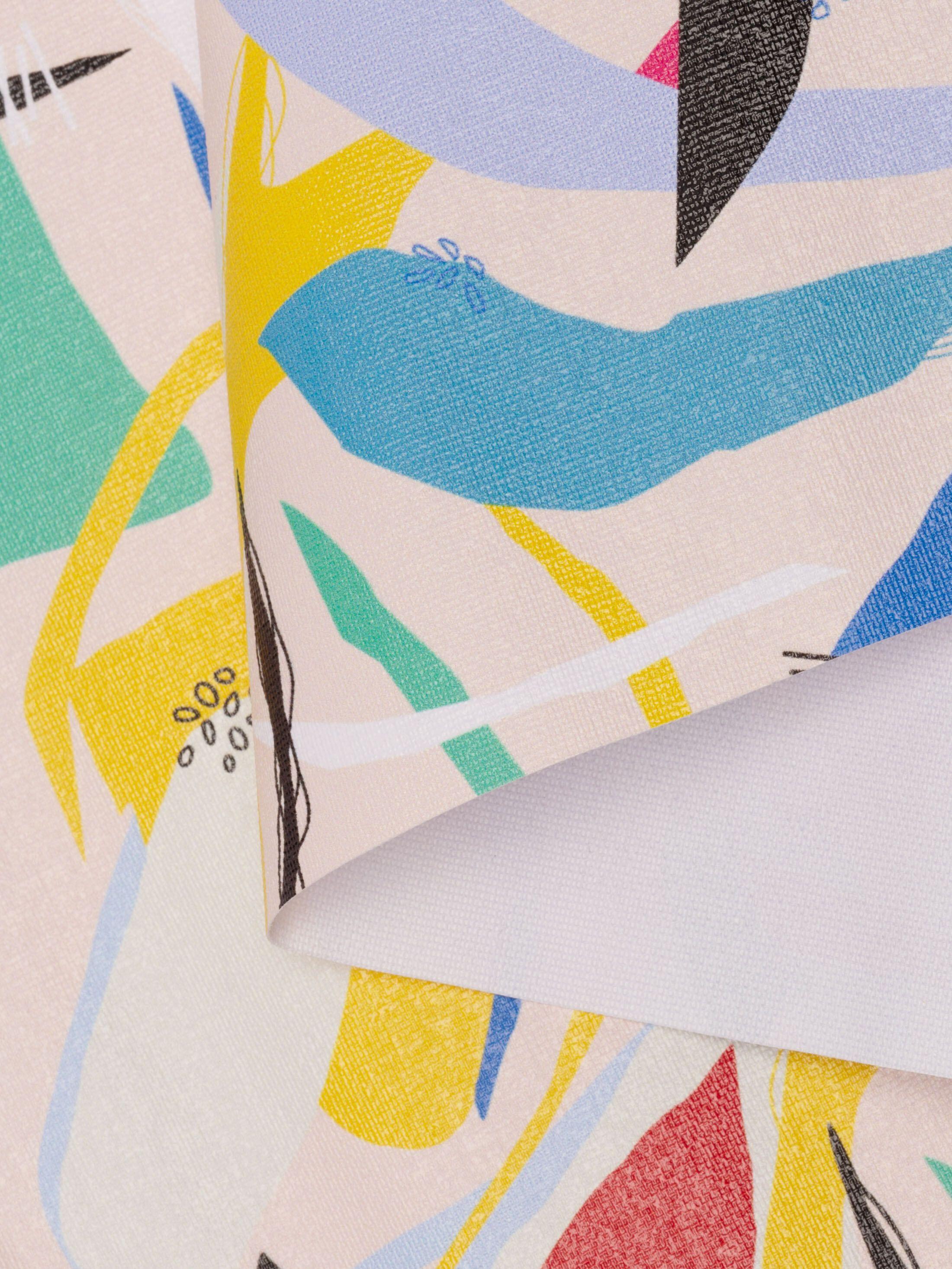 Stiff Translucent fabric sample printing