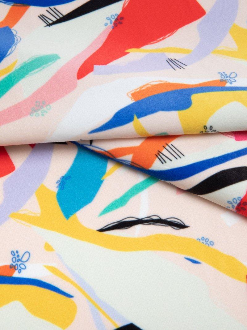 customised soft velvet