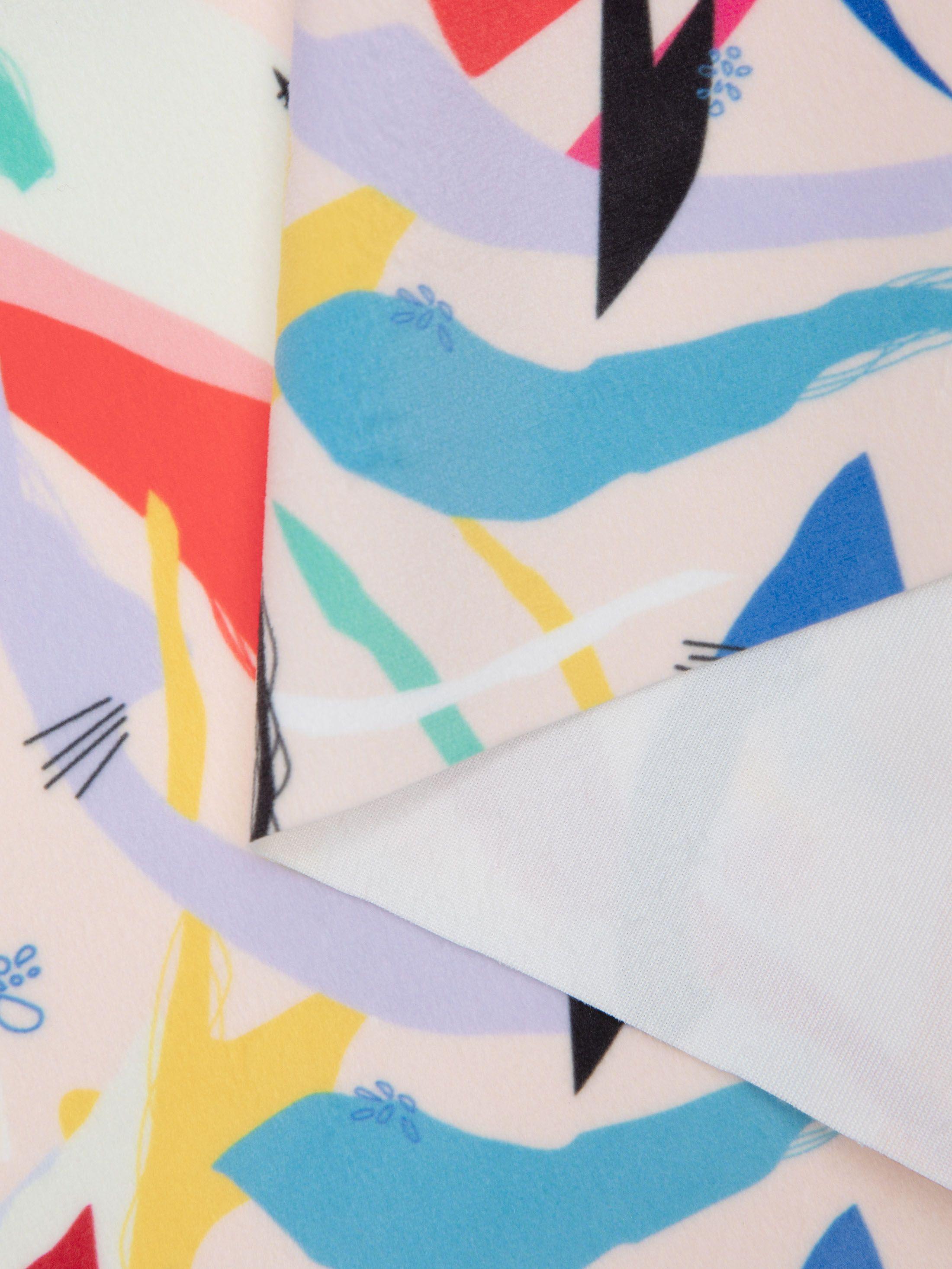 printing on velvet fabric online UK