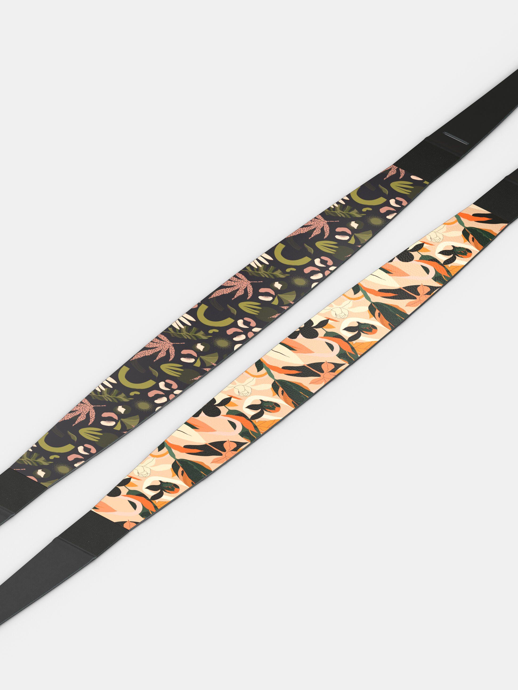 custom printed wrap belt