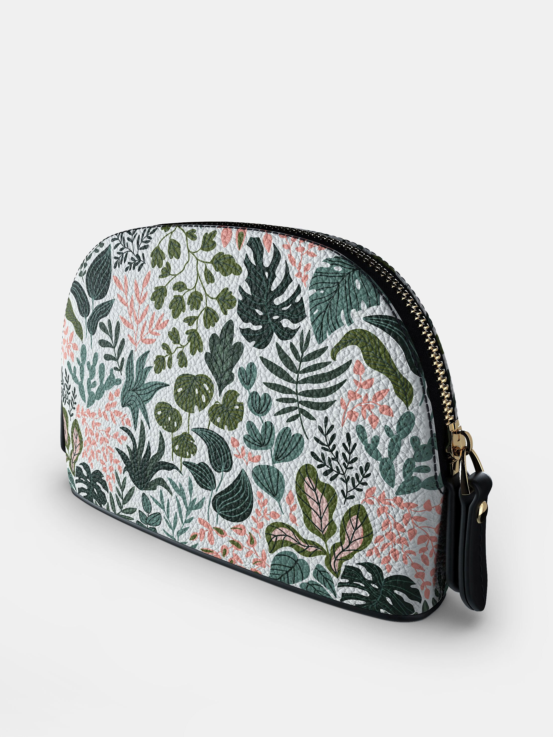 leather custom cosmetic case