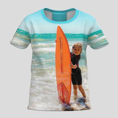 Personliga barn-t-shirts