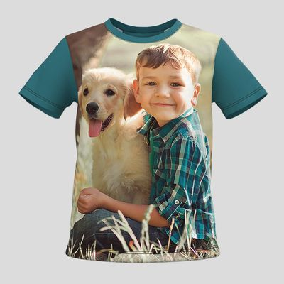 camisetas infantiles premium personalizadas online