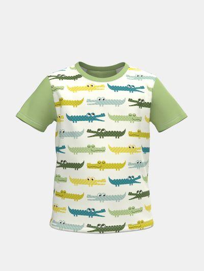 Barn-t-shirts med eget tryck