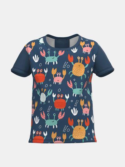 Barn-t-shirts med tryck