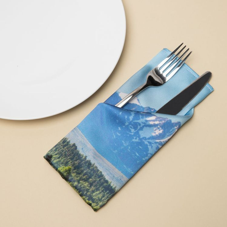personalised napkin