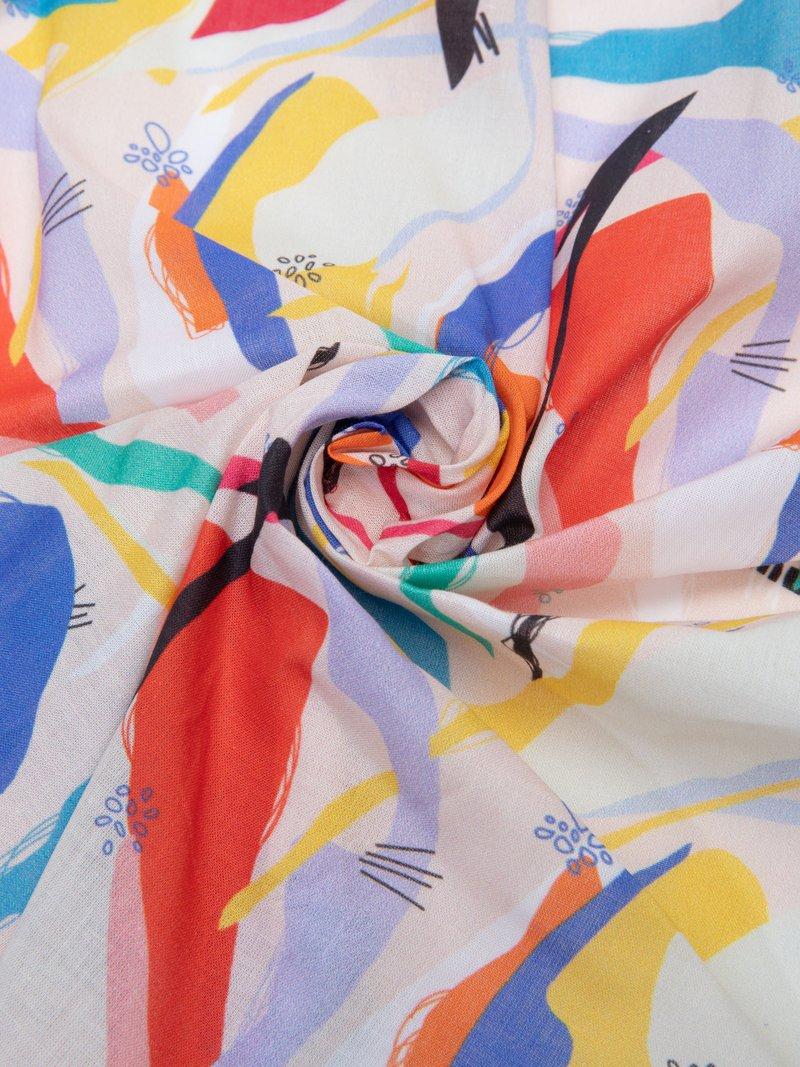 Tissu Coton Pima linon100% naturel sur mesure