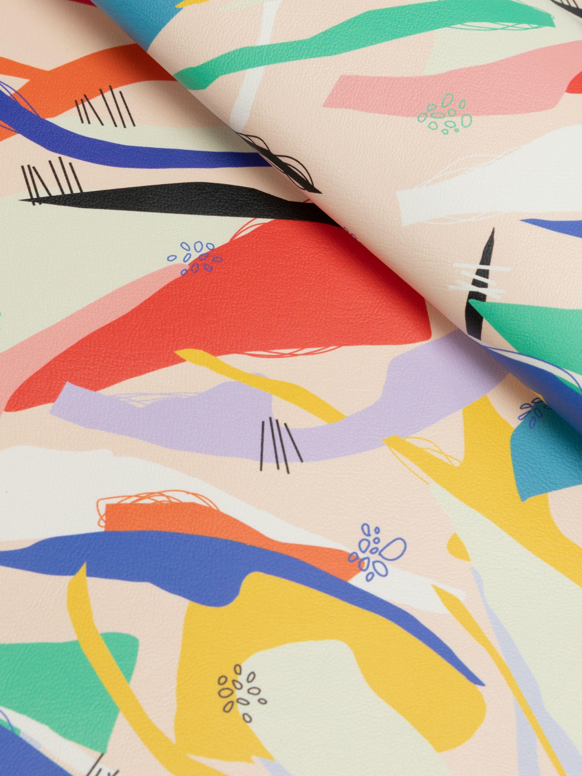 kunstleder für polster bedrucken