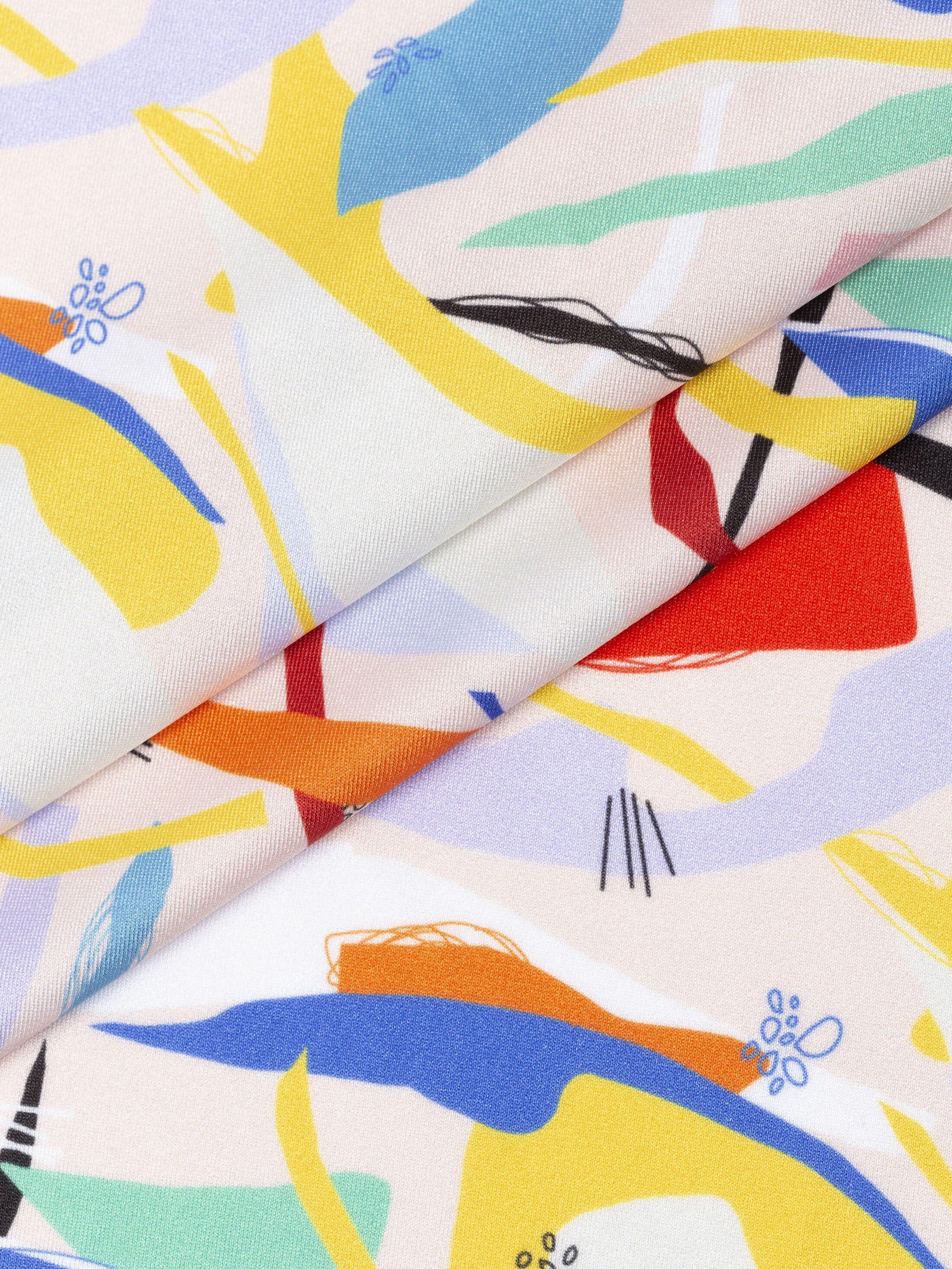 Lycra met print details 4-way stretch