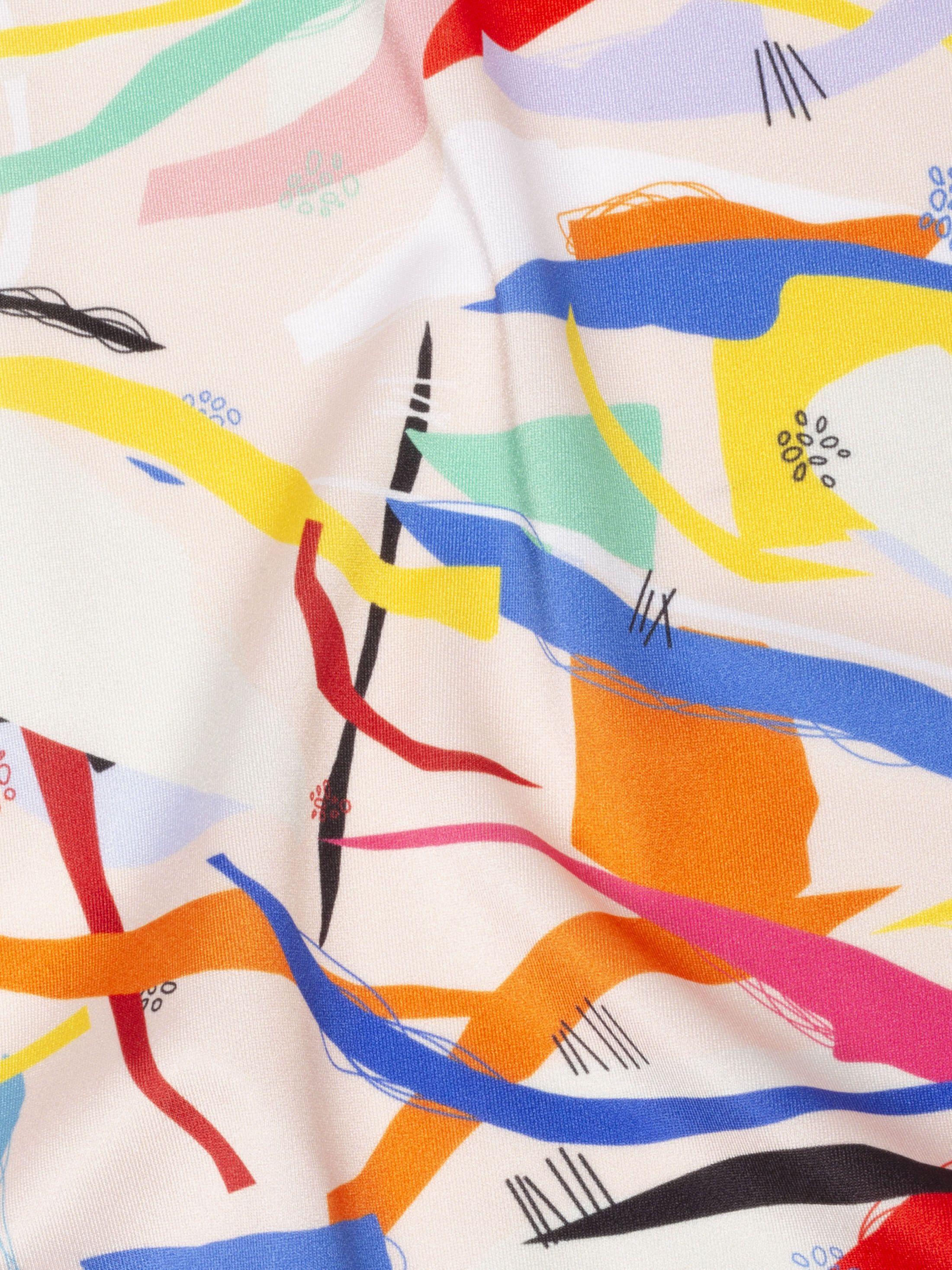 Printed Lycra Soft Sheen