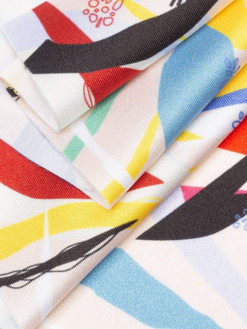 Printable lycra detail stretchable 4 way stretch