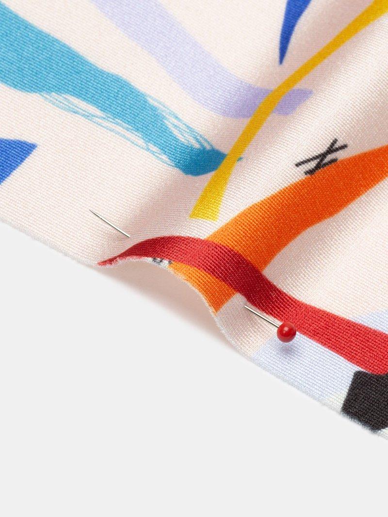 Lycra soft sheen fabric UK