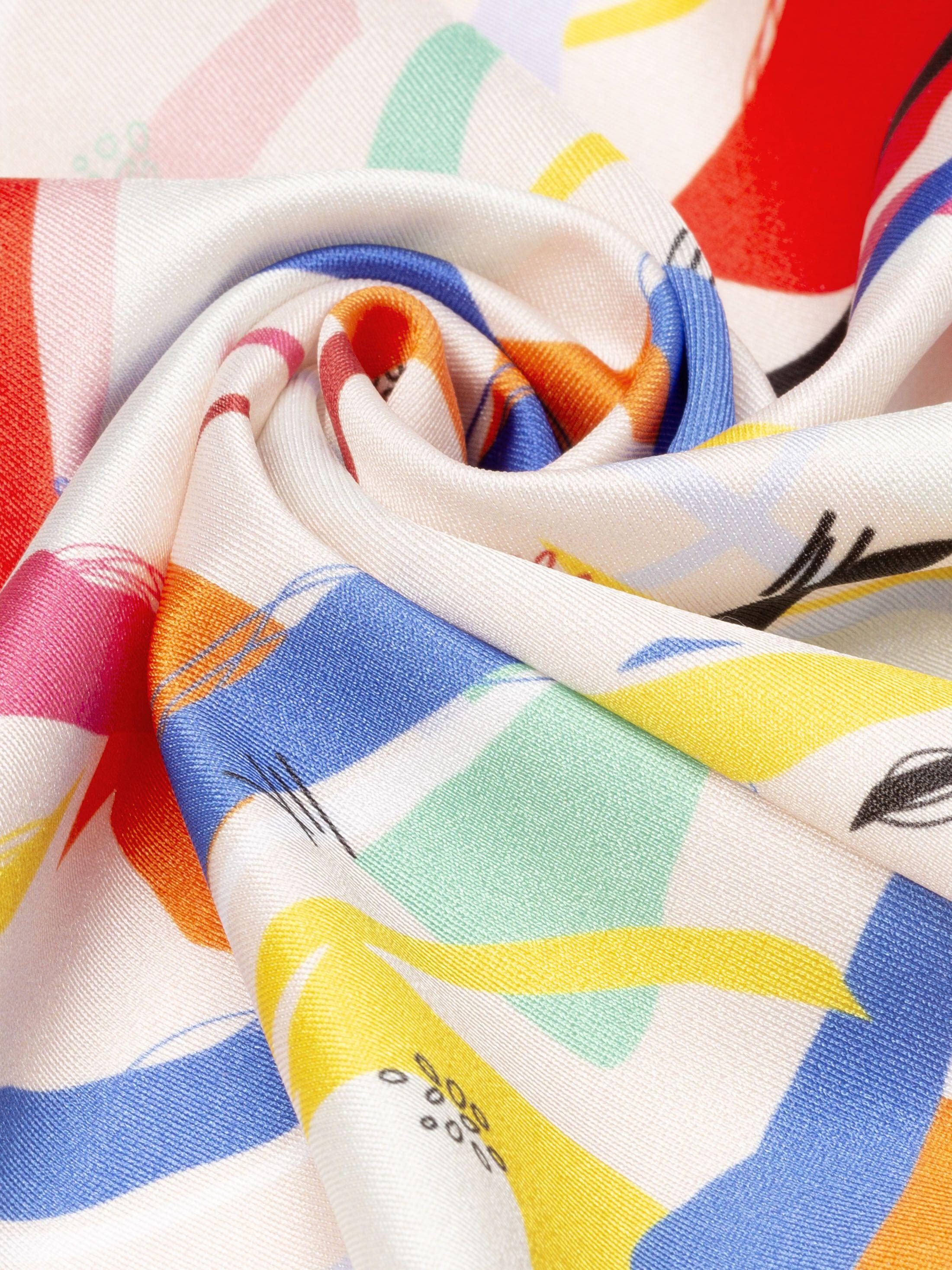 Shiny Lycra folded