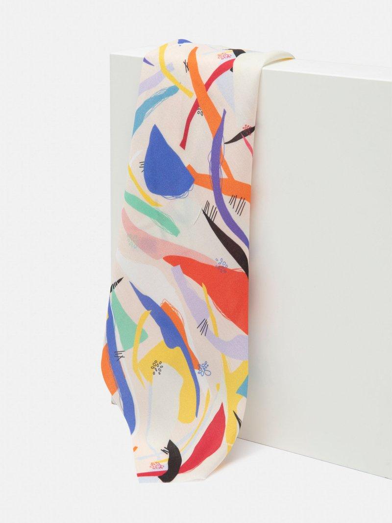 Custom viscose printing drape