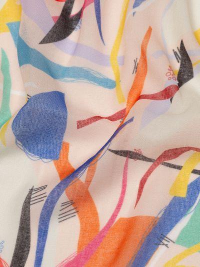 mulmul muslin mjuk textil med eget tryck