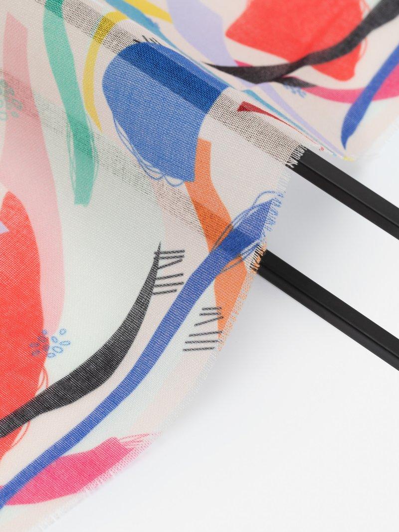 custom printing on muslin