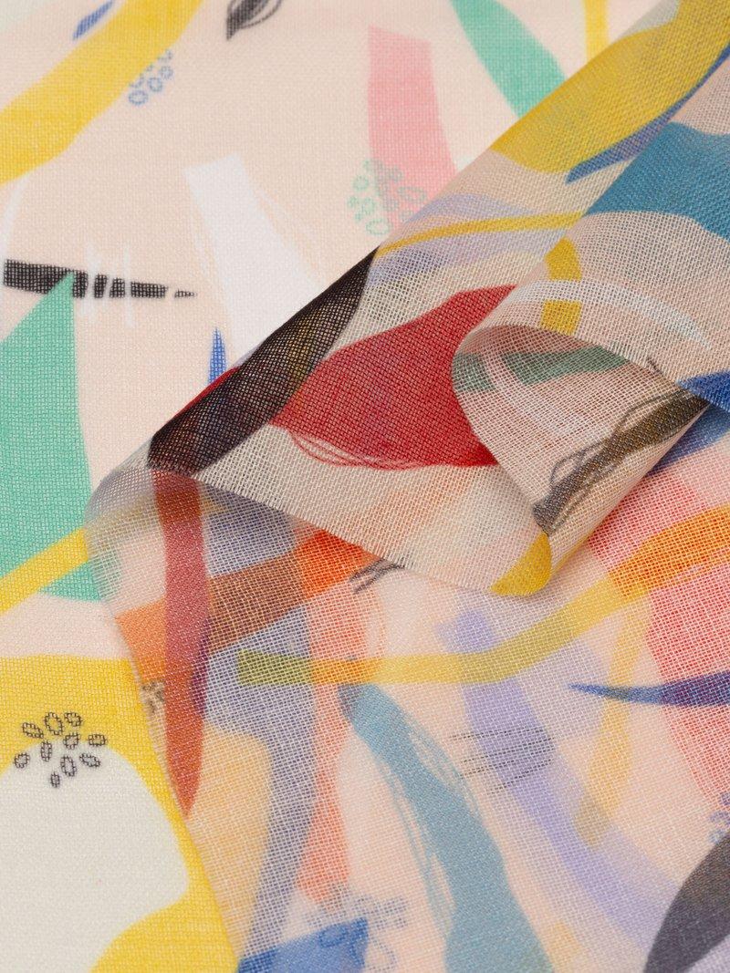 Diseña online tela muselina estampada