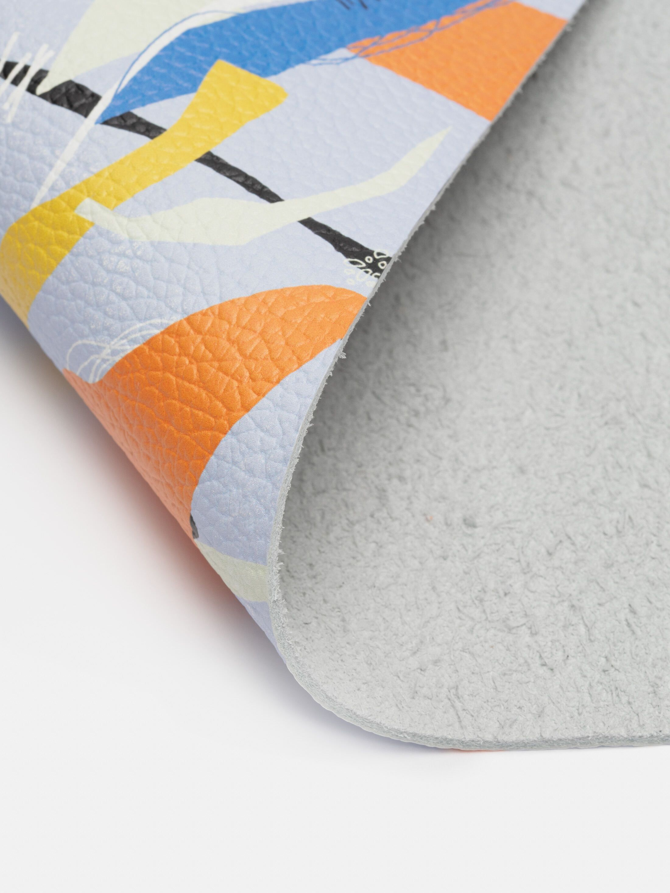 nappa leather custom printed