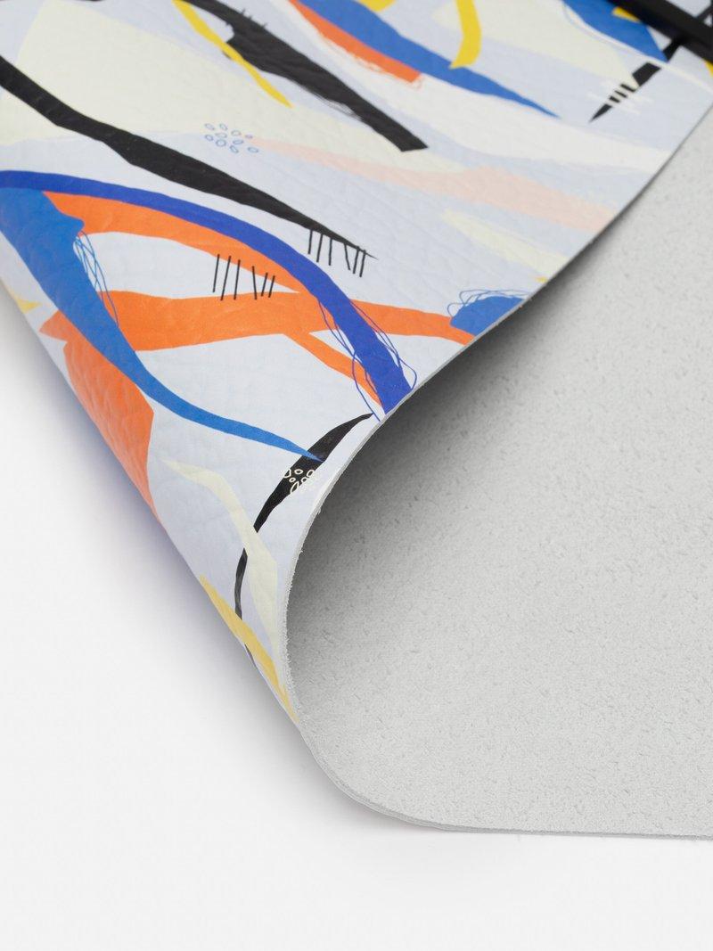 impresión en cuero de nappa suave