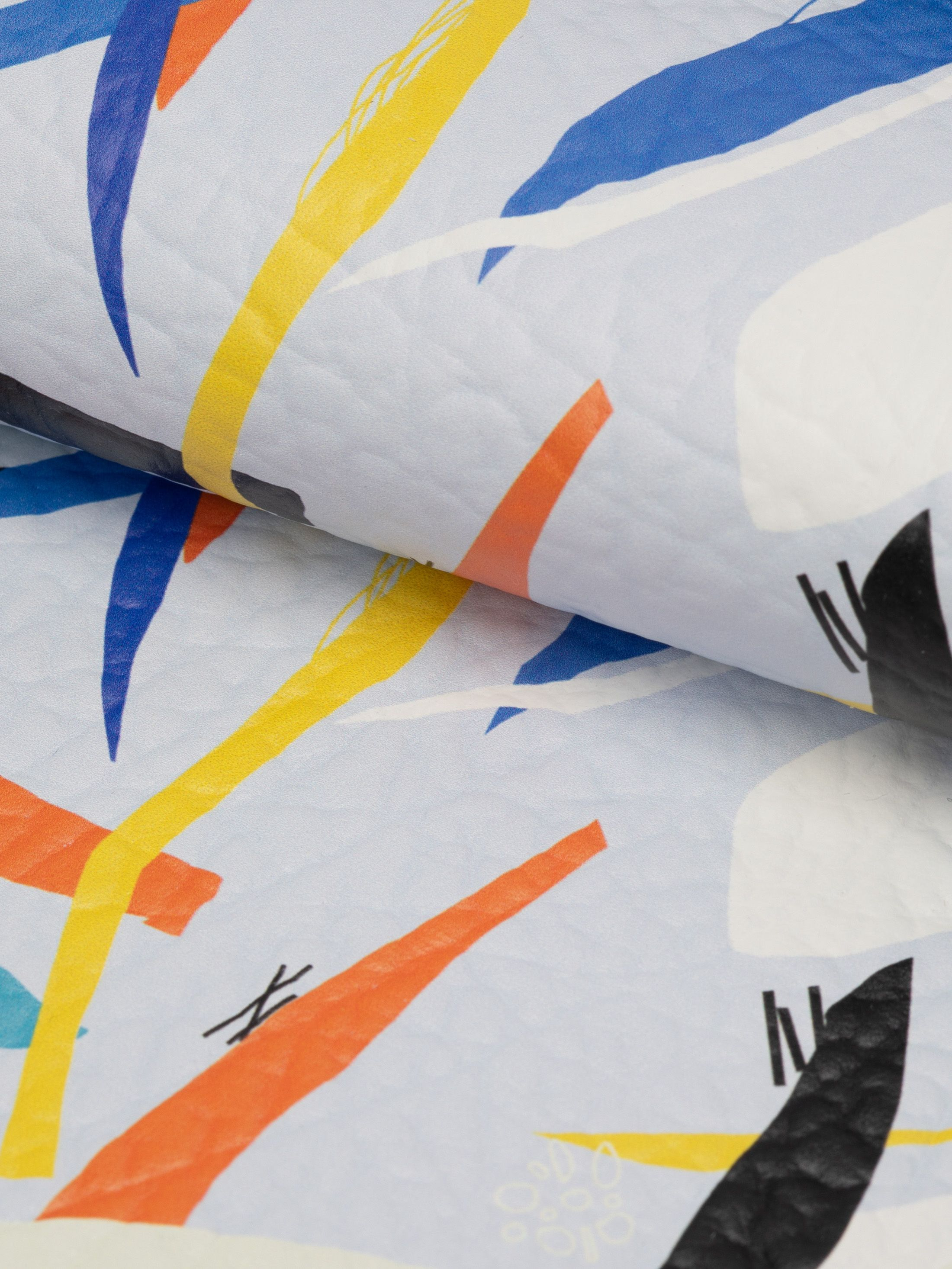 custom smooth nappa leather printing