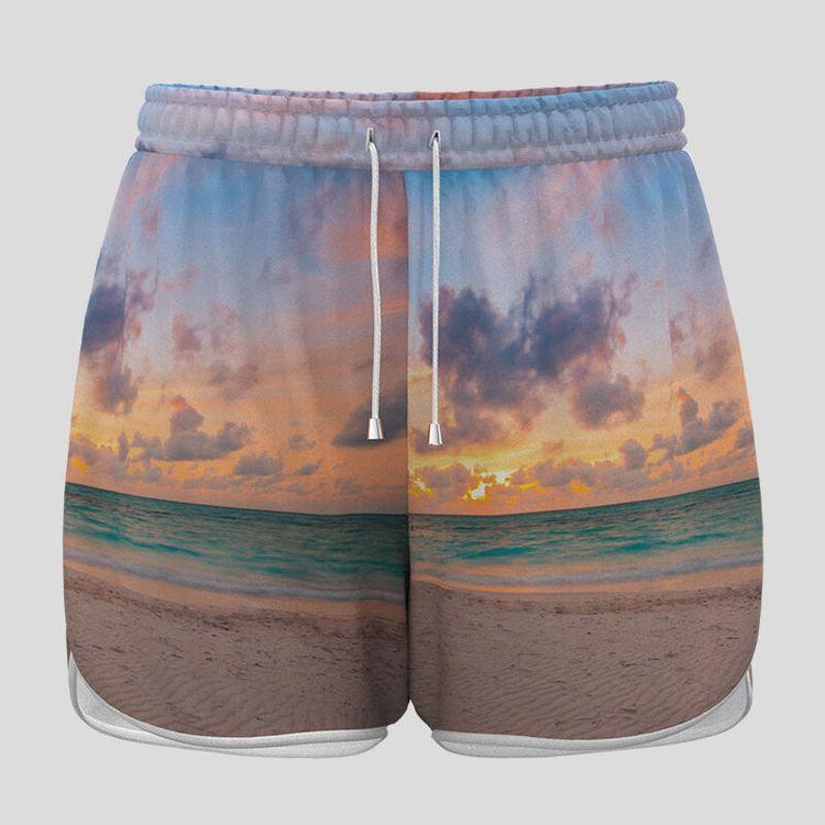custom women's shorts for running