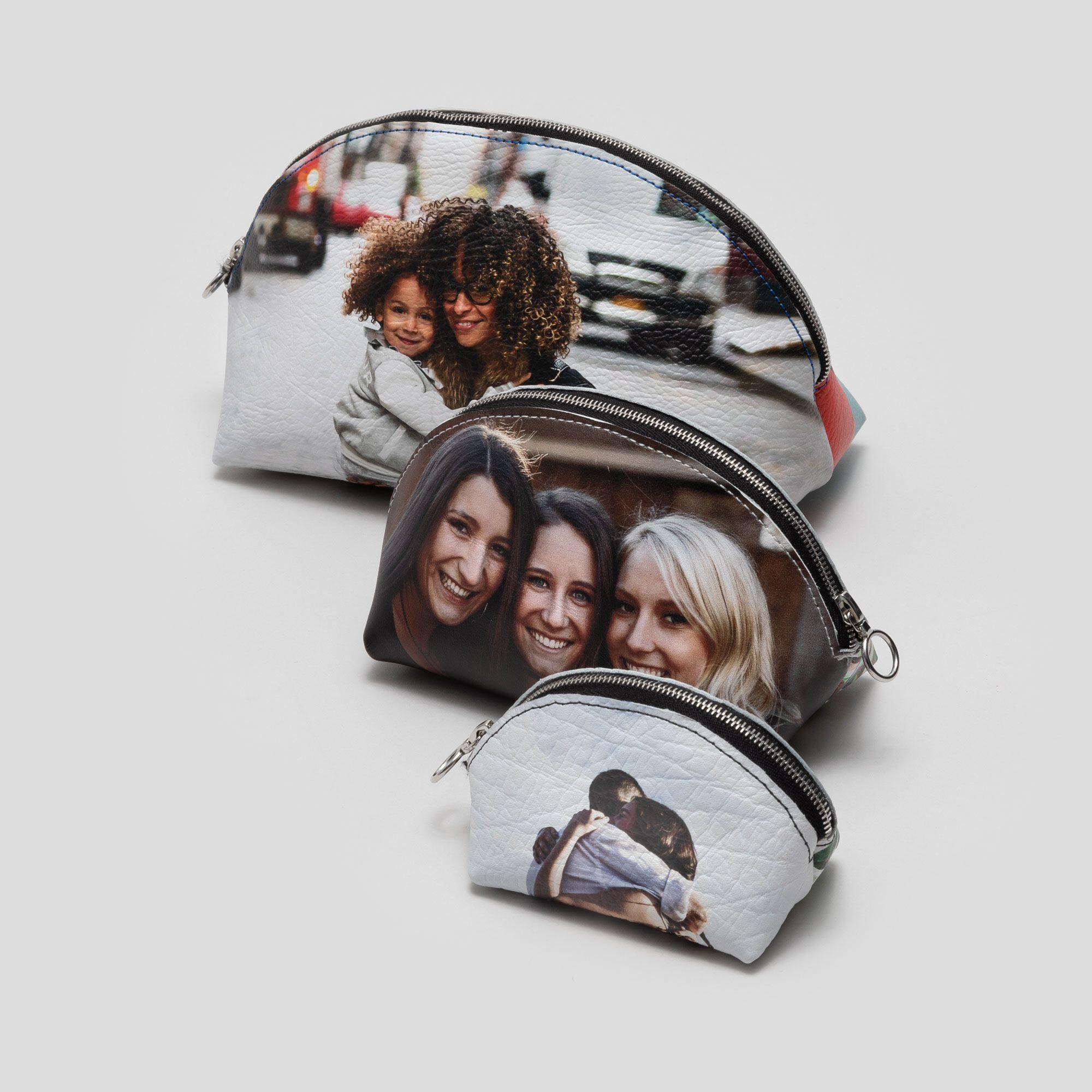Geldtasche mit Fotodruck
