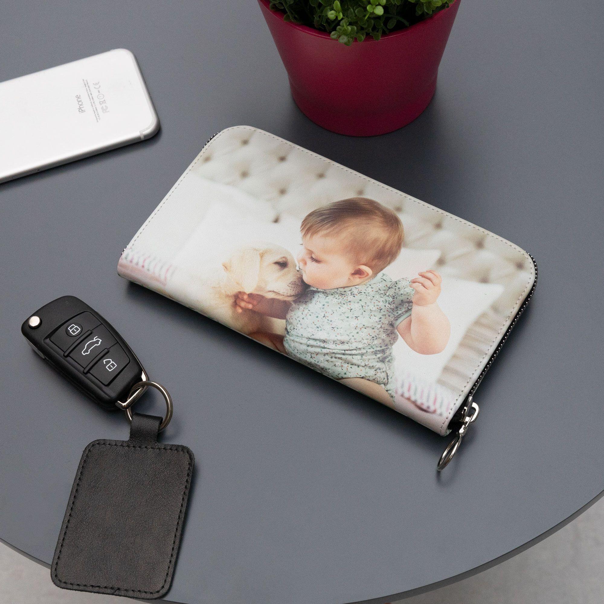 handgemaakte portemonnees met foto