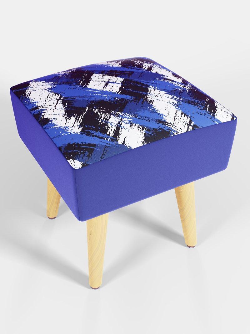 custom made square footstool