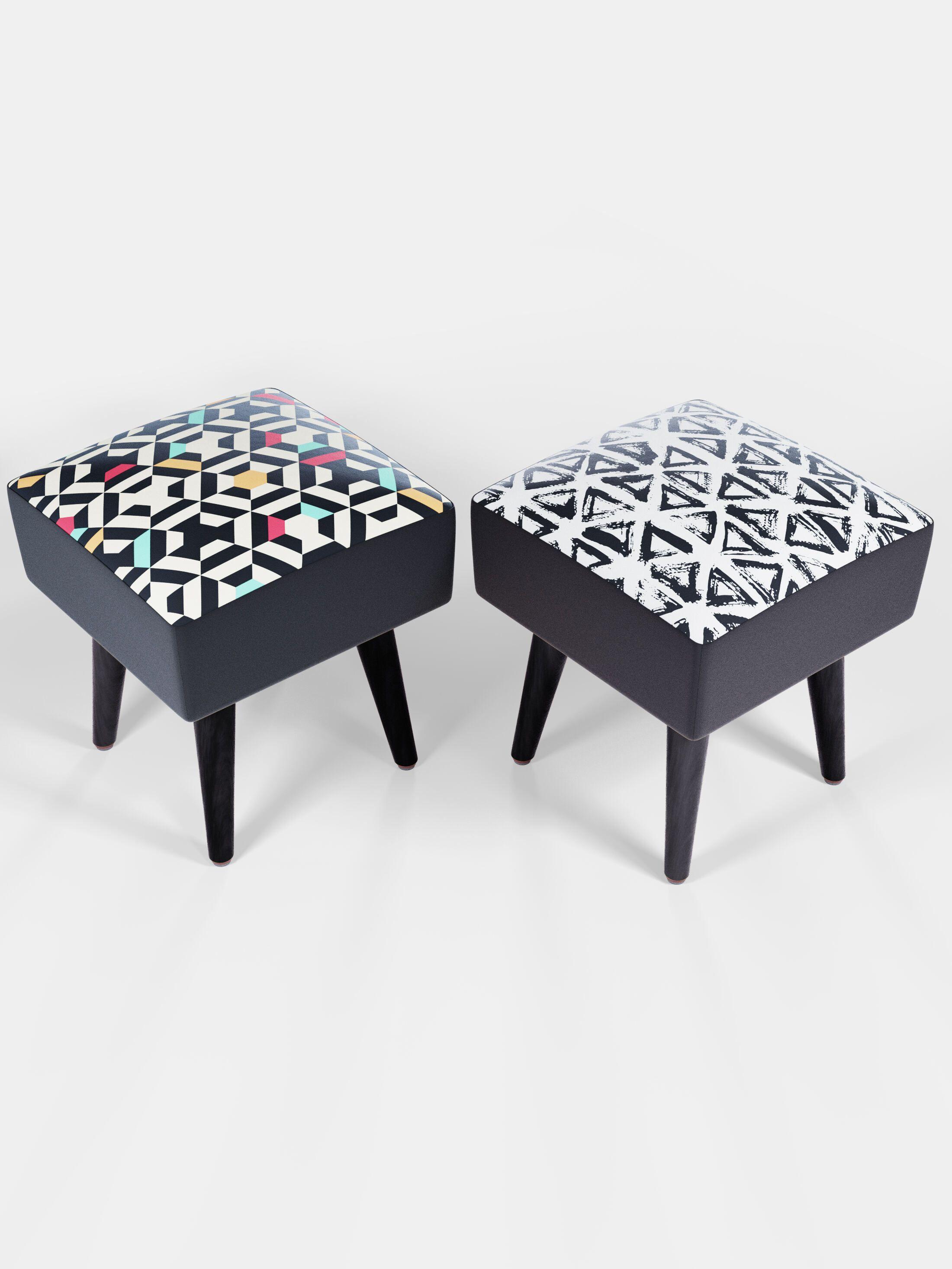 bespoke vanity stool