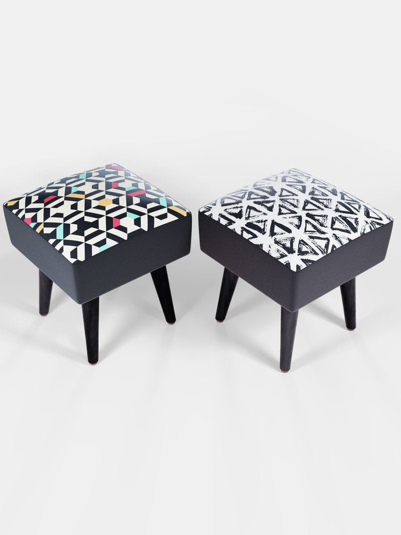 custom vanity stool