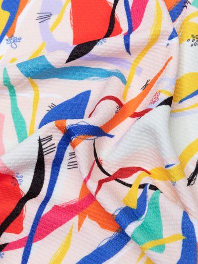 Chain Jersey knit fabric