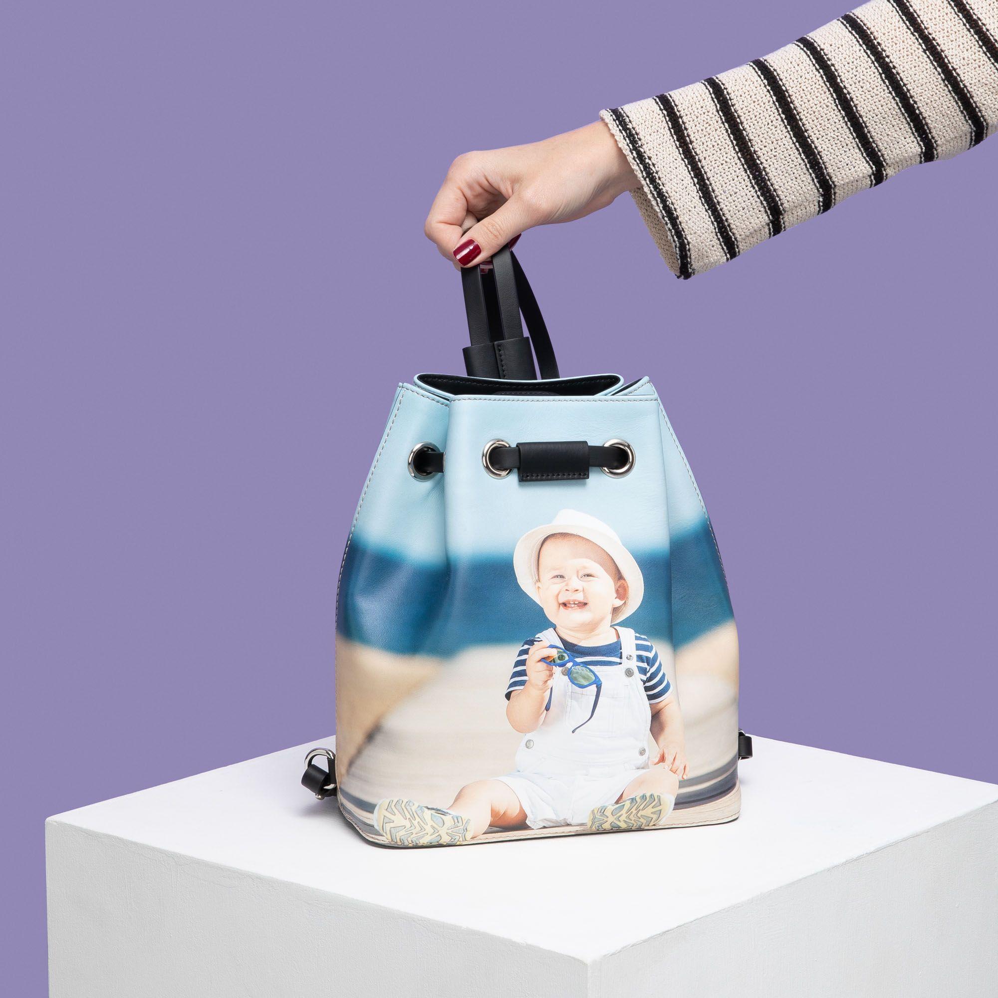 sac à dos avec photo