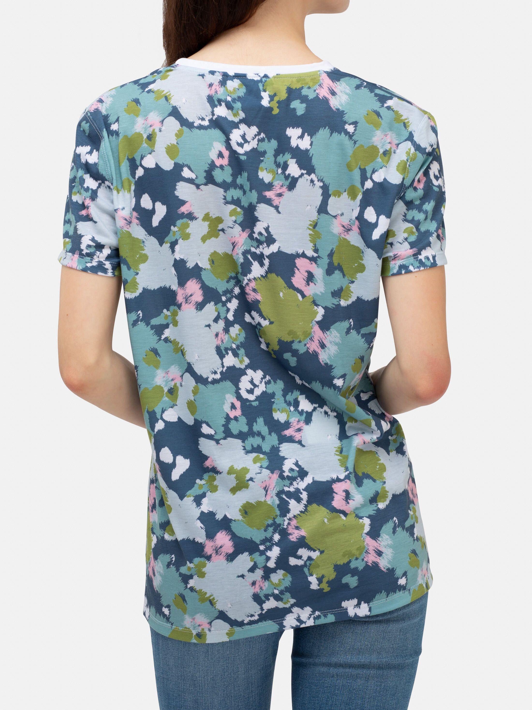 T Shirt Druck Detail Nahaufnahme