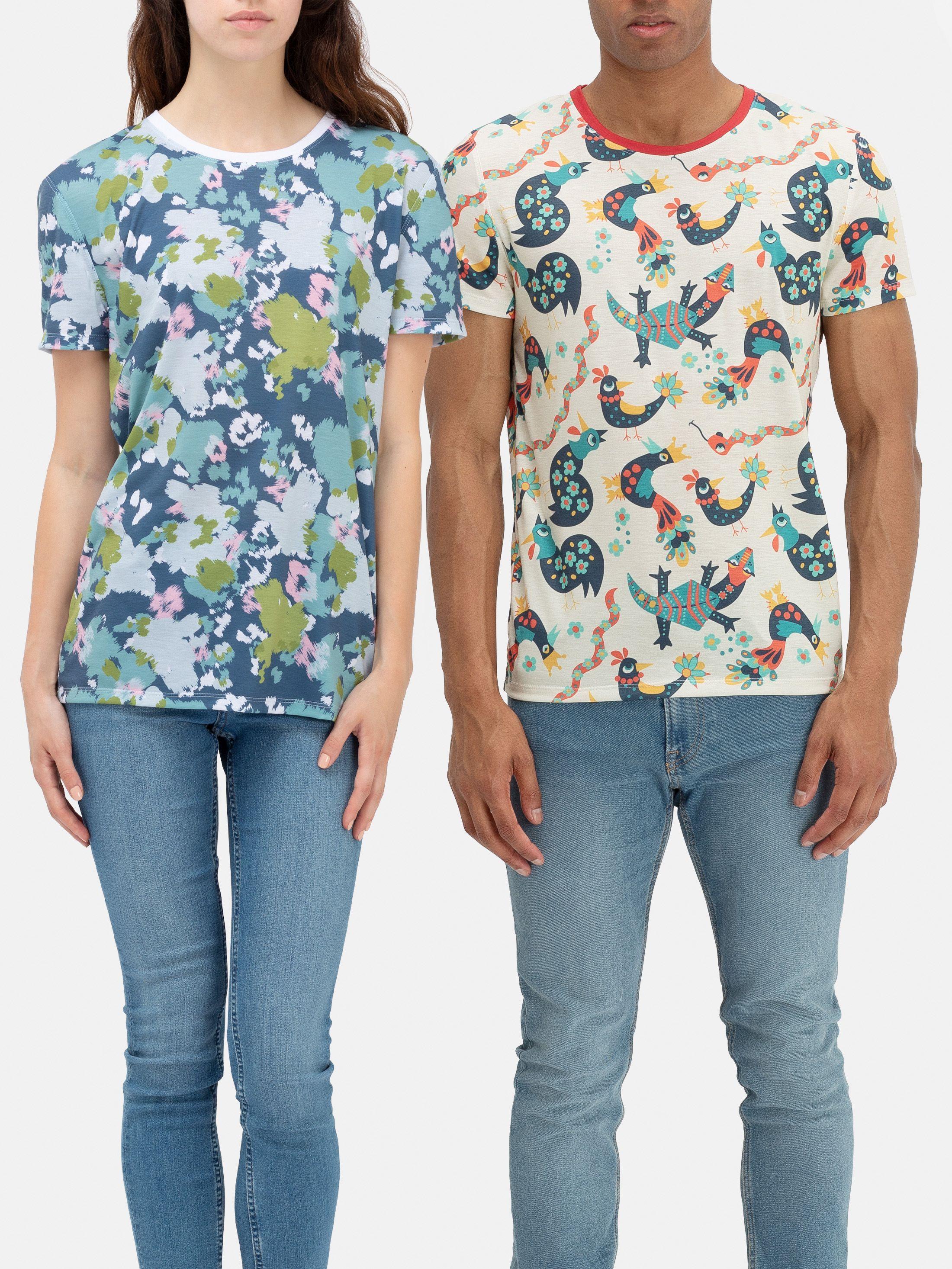T-shirt personnalisé de bout en bout