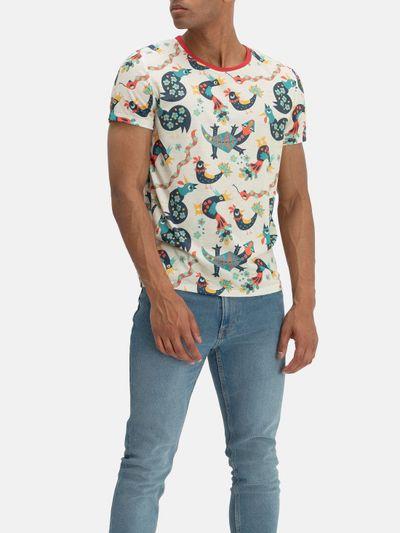 Impression intégrale sur T-shirt