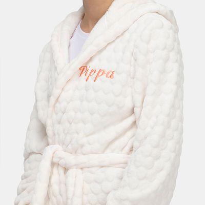 gepersonaliseerde fleece badjas