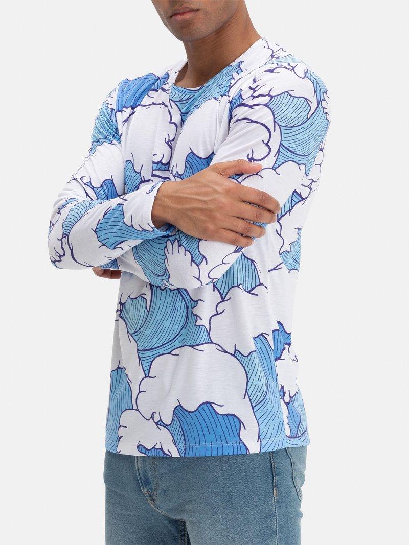 crea collezione magliette uomo maniche lunghe online