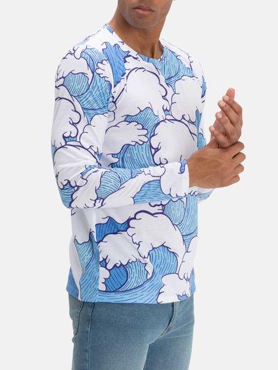 T-shirt manche longue pour homme