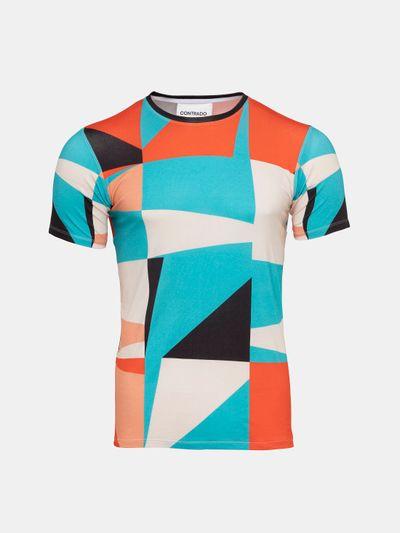 mens custom stretch t shirt