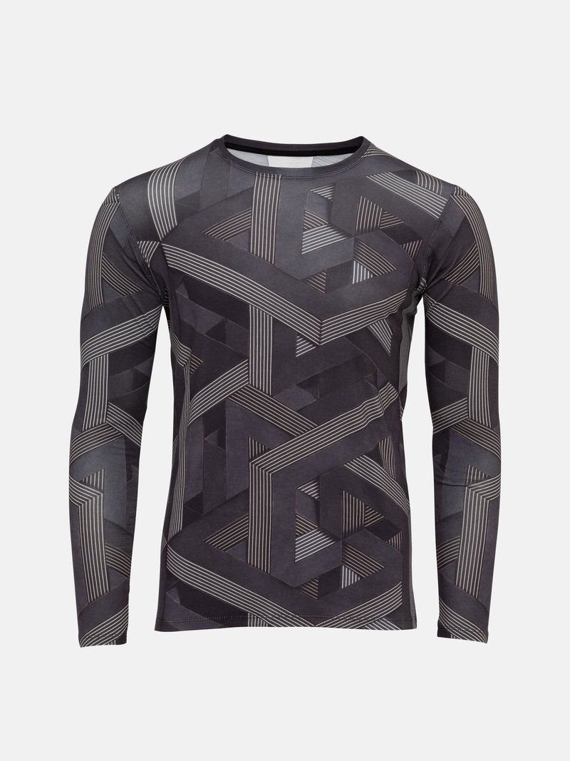 Men's Custom Stretch Long Sleeve T-Shirt