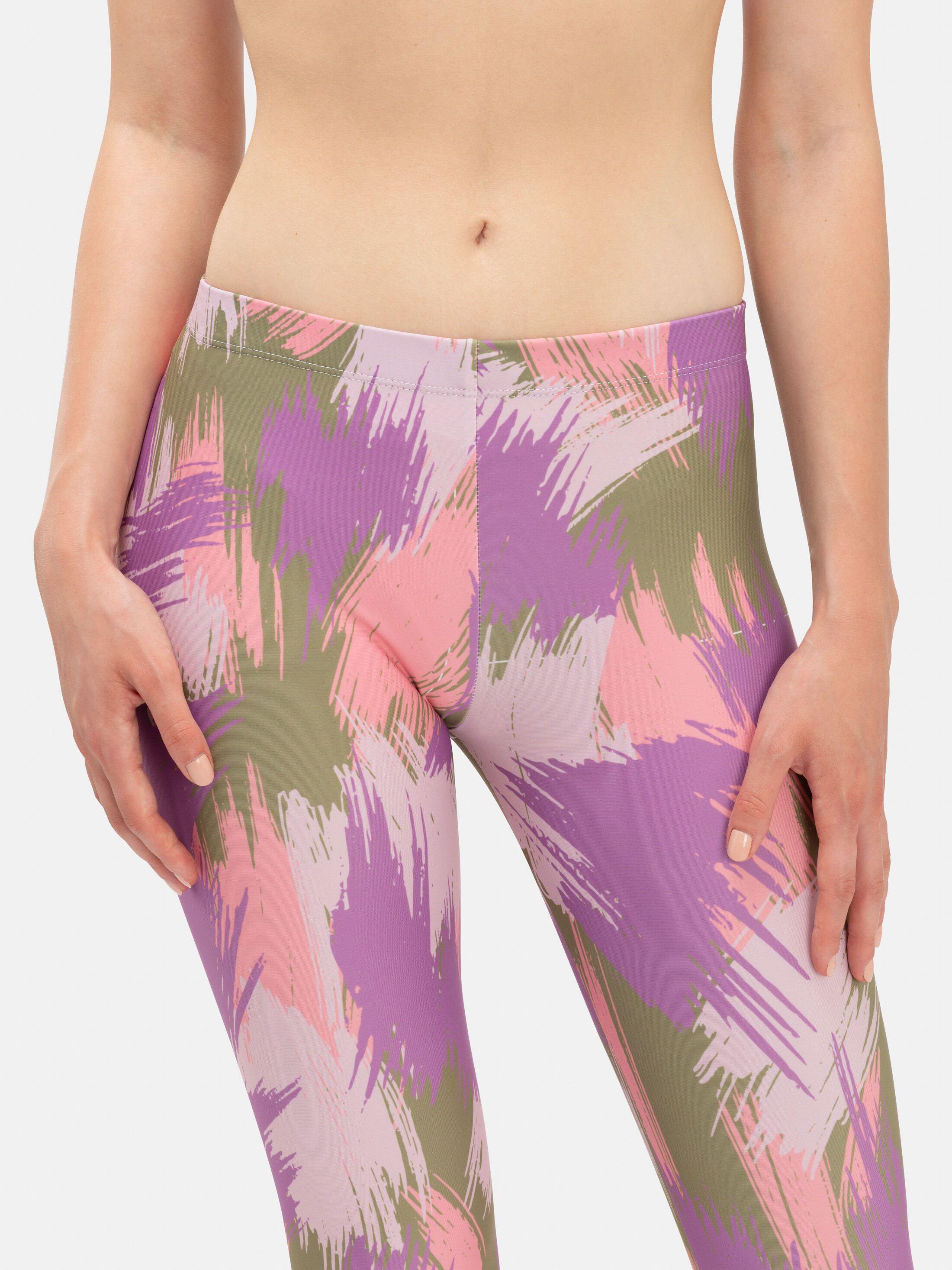 designer print leggings