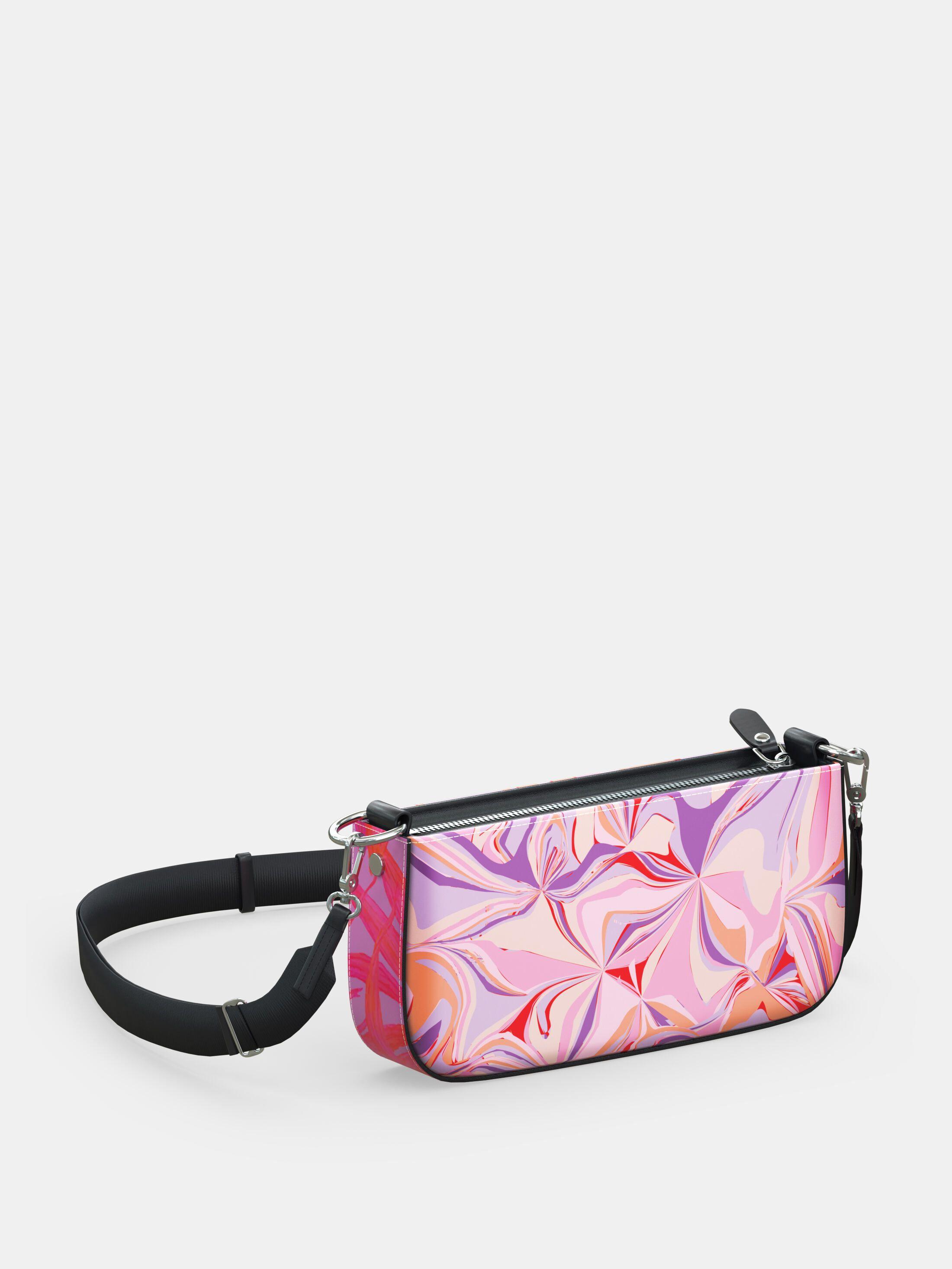 printed zipper box bag